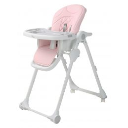 B-Dinner Chair Wheely Roze