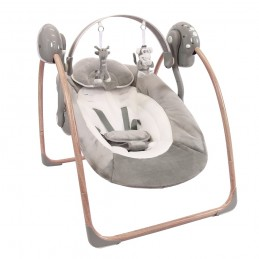B-Portable Swing Wood Grey