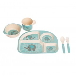 B-Corn Dinner Set Blue...