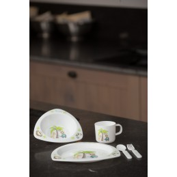 B-Dinner Set Triangle -...
